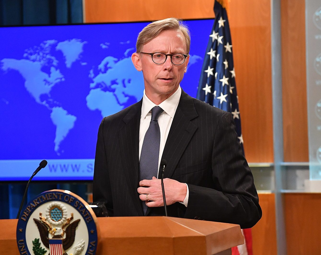 Brian Hook, the Iran Hawk in Chief